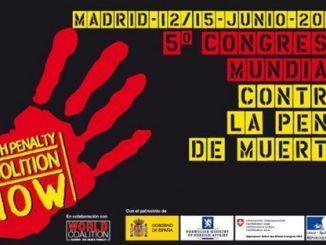 V Congreso contra la Pena de Muerte en Madrid