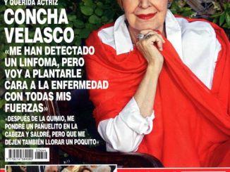 Concha Velasco Lucha contra un Linfoma