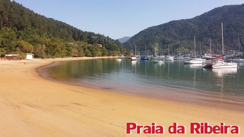 Trilha para a Praia das 7 Fontes - Praia da Ribeira