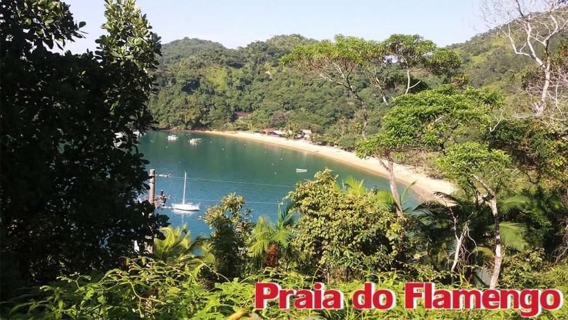 Trilha para a Praia das 7 Fontes - Praia do Flamengo