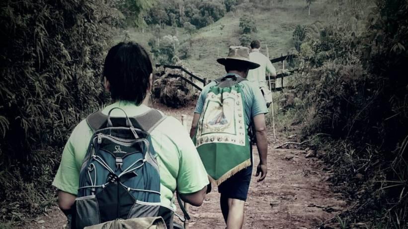 Caminhada até Aparecida