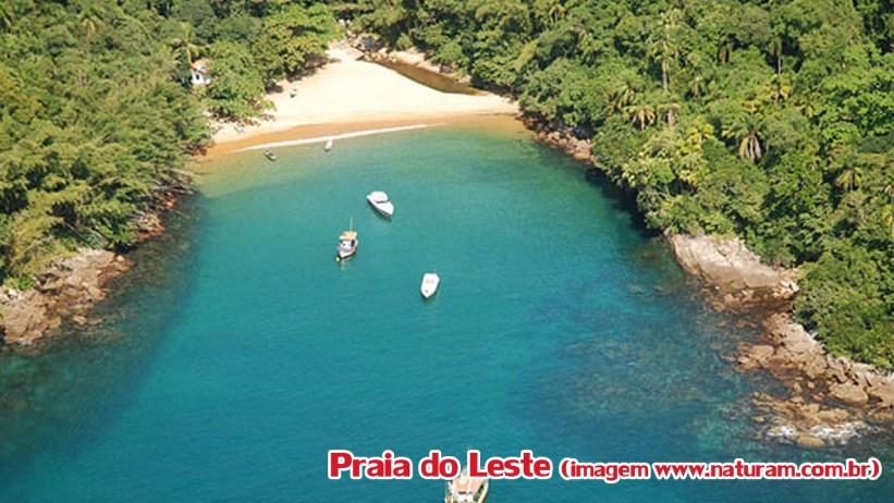 Praia do Leste - Ilha Anchieta