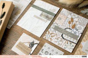 DT – Carterie Les Ateliers de Karine – Cartes project life