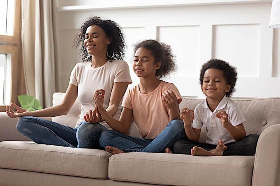 meditación con niños