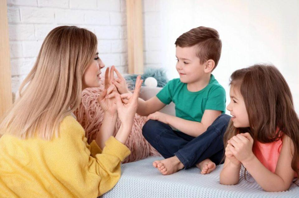 estar con los niños