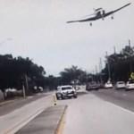 IMPRESIONANTE VÍDEO: Una avioneta realiza un aterrizaje forzoso en medio de una calle