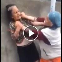 Combate de boxeo de dos abuelas. VÍDEO INCREÍBLE.