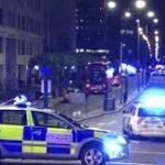 Aniversario de ataque del Puente de Londres: camioneta de ataque de la policía utilizada por terroristas