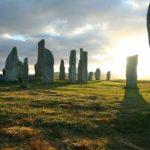 Milenarios círculos de piedra y los rayos