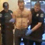 Policía confunde el pene erecto de un detenido con un arma