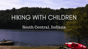 Hiking with Children in South Central Indiana