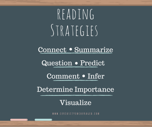 Reading Strategies for when there is struggle