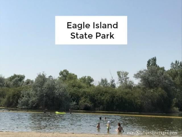 Eagle Island State Park, Idaho, family travel Southwest Idaho