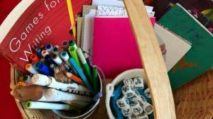 Create a Writing Basket | Encourage Young Writers