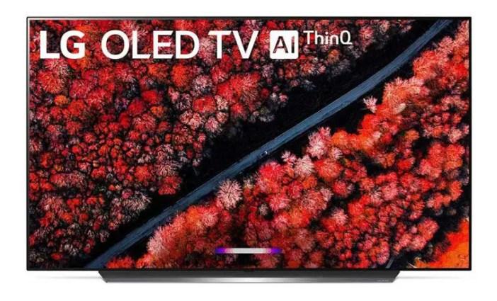 LG OLED C9 TV.