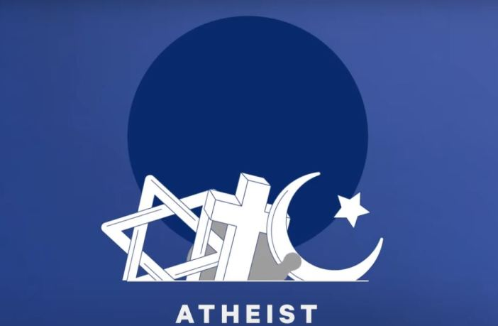 Definition of atheist: a person who does not believe in the existence of a god or any gods.