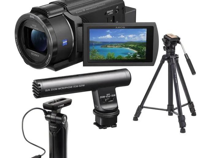 Sony AX43 4k Camera.
