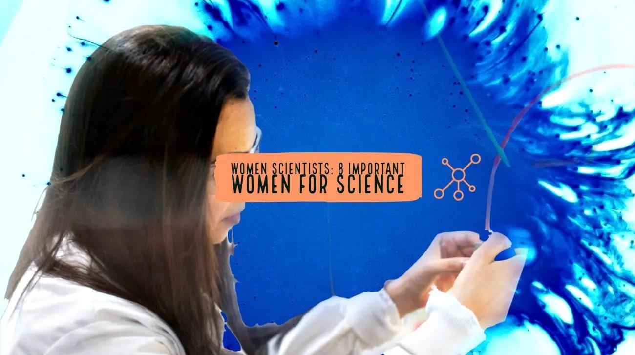 Important women in science.