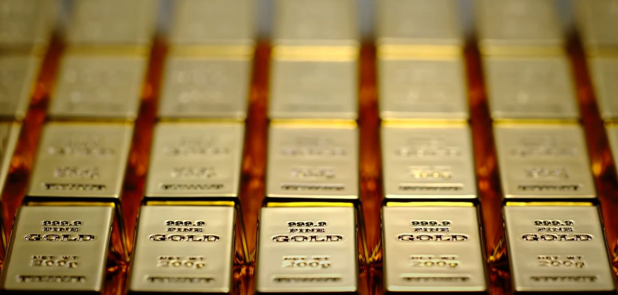 Top 10 list of gold reserves by country.