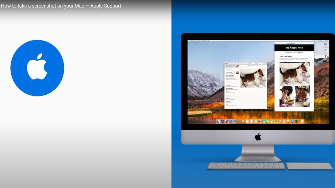 Screenshot on Mac.