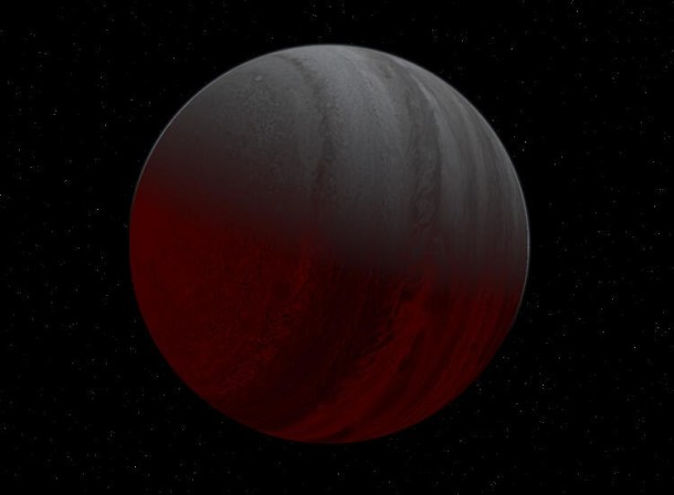 The darkest planet ever found, TrES-2b.