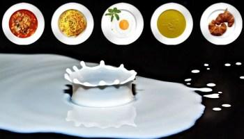 Non-dairy foods that contain calcium.