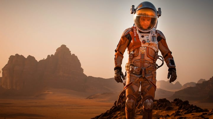 "Sci-fi film ""The Martian"" illustrates well the challenges a manned mission to Mars."