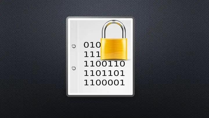 Bitlocker Recovery Keys and a lock.