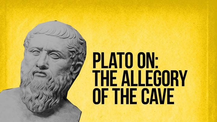 Main point of Plato's allegory of the cave.