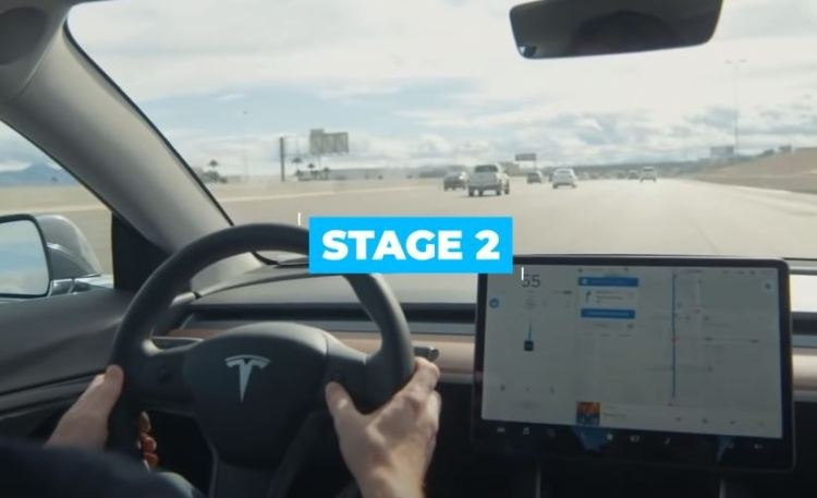 How does Tesla test their cars, stage 2.