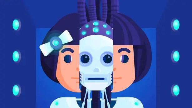 Human AI robot relationships.