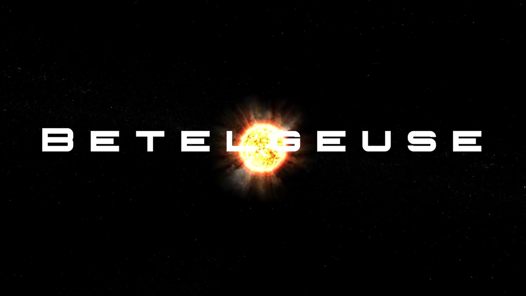 Main image of an article on what will happen to Earth when the star Betelgeuse explodes as a supernova.