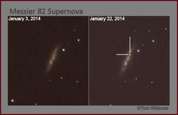 M82 supernova.