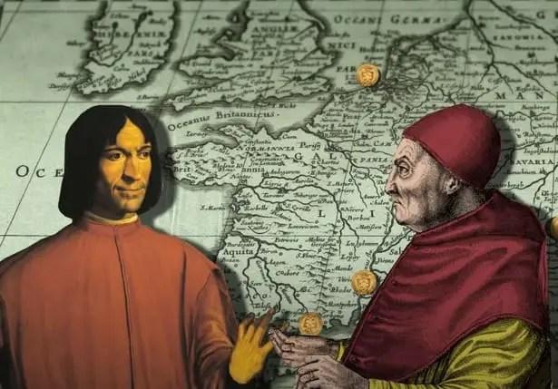 House of Medici banking activity history.