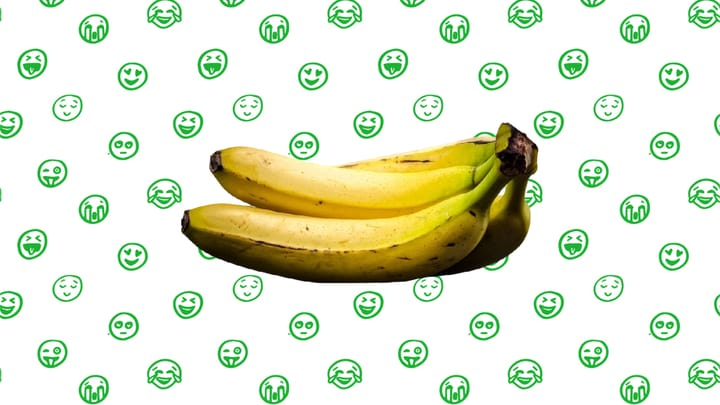 Main image of an article on why bananas change color from green to yellow.