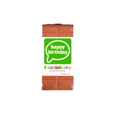Block Happy Birthday Chocolate