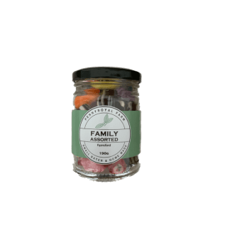 Family assorted old style boiled lollies 190 g