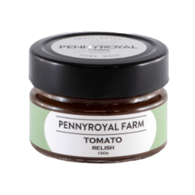Tomatoe Relish Pennyroyal farm geelong bellarine