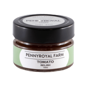 Tomatoe Relish Pennyroyal farm geelong bellarine