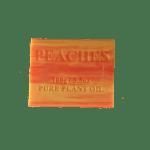 Peach natural organic plant oil soap