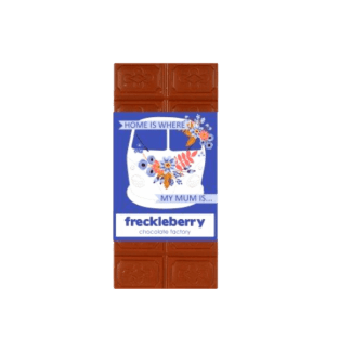 Freckleberry chocolate- milk chocolate block