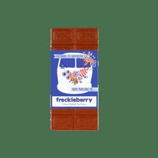 Freckleberry chocolate- milk chocolate block