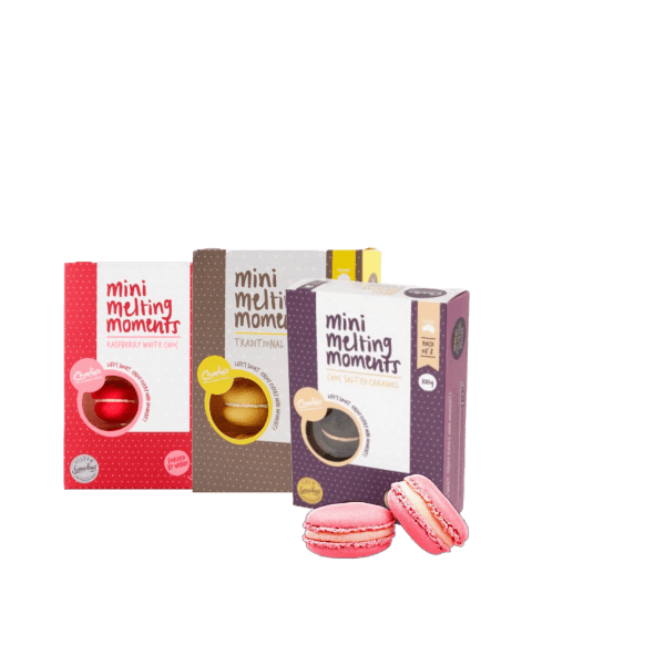 Trio melting moments from Bellarine gift hampers