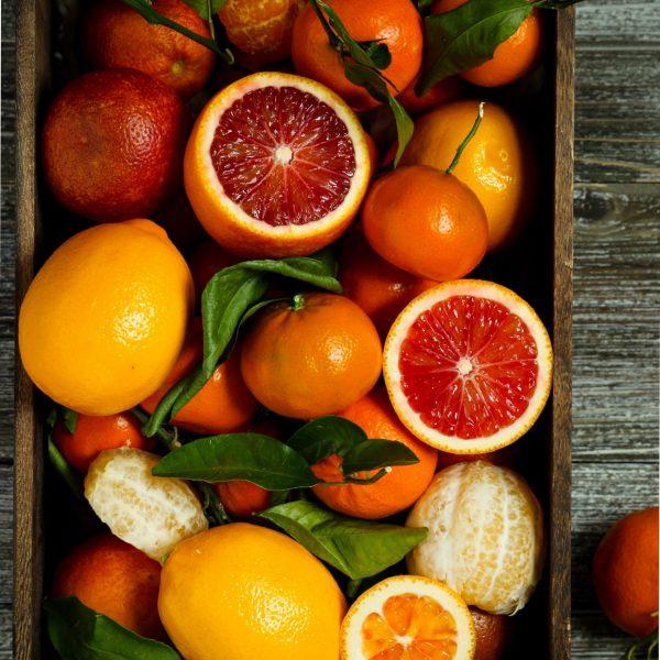 Fruit gift hamper box