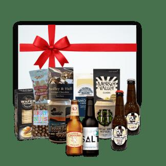 Beer Platter- ploughman's deluxe hamper