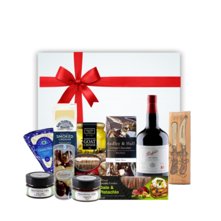 Port And Cheese christmas hamper