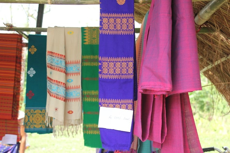 handwoven fabrics from India