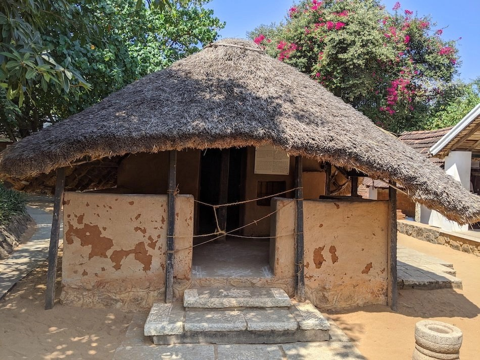 Indian thatched housing