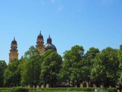 Munich Germany Hofgarten