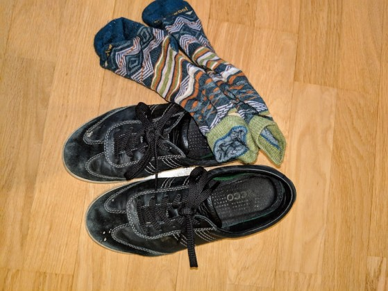 Shoes and socks to pack for New Zealand